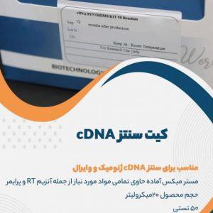 کیت سنتز cDNA ژنومیک و وایرال