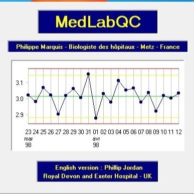 کتاب راهنمای استفاده از نرم افزار Med-Lab QC + فایل نرم افزار